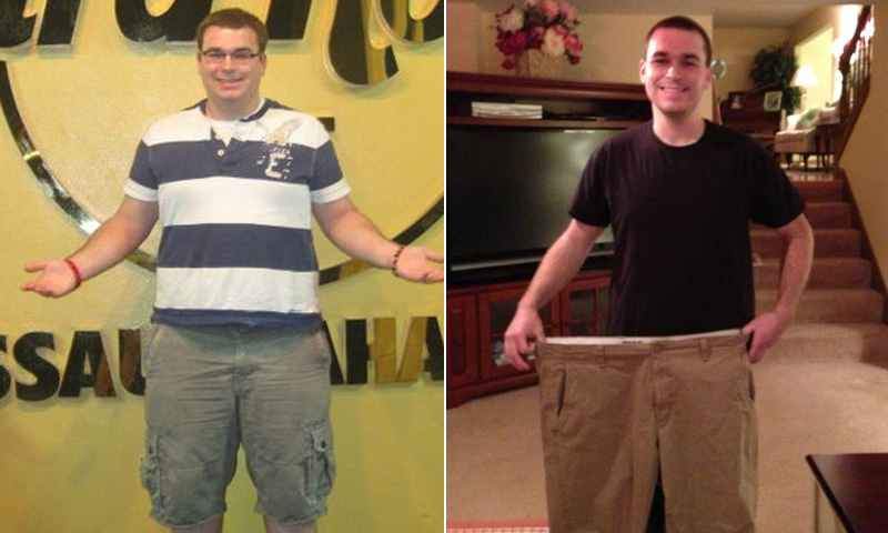 I lost 111 pounds! Read my weight loss success story and see my before and after weight loss pictures at the website The Weigh We Were. Hundreds of success stories, articles and photos of weight loss diet plans for men, tips for how to lose weight for men. Build muscle and lose belly fat with healthy male weight loss transformation pics for inspiration!