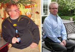 I lost 41 pounds! Read my weight loss success story and see my before and after weight loss pictures at the website The Weigh We Were. Hundreds of success stories, articles and photos of weight loss diet plans for men, tips for how to lose weight for men. Build muscle and lose belly fat with healthy male weight loss transformation pics for inspiration!