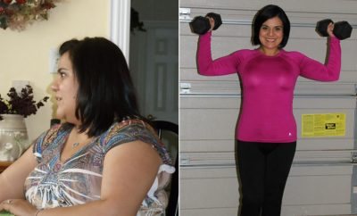 Weight Loss Before and After: Elise Huffman Let Go Of A Painful Past And Lost 70 Pounds