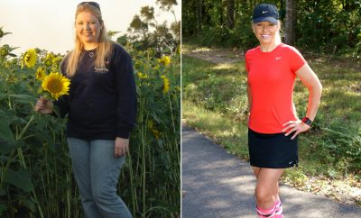 Real Weight Loss Success Stories: Gina Took Up Running And Lost 76 Pounds