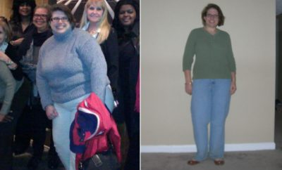 Weight Loss Success Stories: Jane Learned To Control Her Food Addiction And Lost 107 Pounds