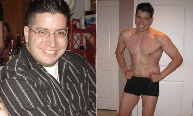 I lost 81 pounds! Read my weight loss success story and see my before and after weight loss pictures at the website The Weigh We Were. Hundreds of success stories, articles and photos of weight loss diet plans for men, tips for how to lose weight for men. Build muscle and lose belly fat with healthy male weight loss transformation pics for inspiration!