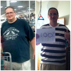 I lost 100 pounds! Read my weight loss success story and see my before and after weight loss pictures at the website The Weigh We Were. Hundreds of success stories, articles and photos of weight loss diet plans for men, tips for how to lose weight for men. Build muscle and lose belly fat with healthy male weight loss transformation pics for inspiration!