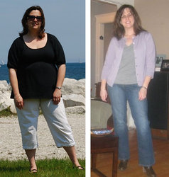 I lost 55 pounds! See my before and after weight loss pictures, and read amazing weight loss success stories from real women and their best weight loss diet plans and programs. Motivation to lose weight with walking and inspiration from before and after weightloss pics and photos.