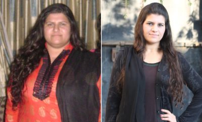 Before and After PCOS – Maddy's 105 Pound Weight Loss Journey