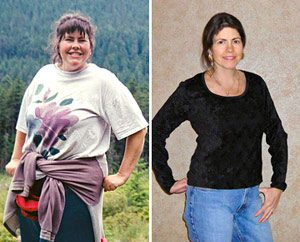 Real Weight Loss Success Stories: Robin Sheds 95 Pounds By Tracking Her Progress