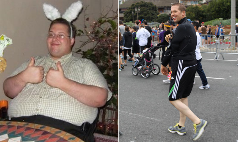 I lost 225 pounds! Read my weight loss success story and see my before and after weight loss pictures at the website The Weigh We Were. Hundreds of success stories, articles and photos of weight loss diet plans for men, tips for how to lose weight for men. Build muscle and lose belly fat with healthy male weight loss transformation pics for inspiration!