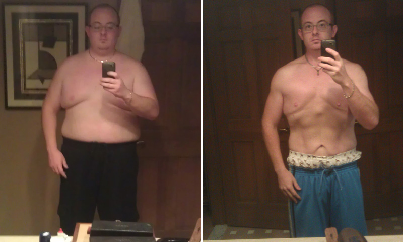 Men Weight Loss Success Story: Tom Drops 100 Pounds With
