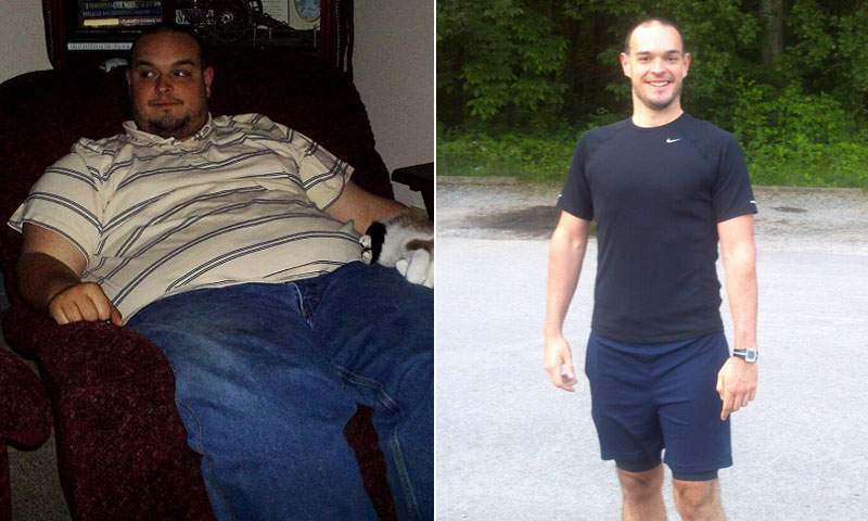 Men Weight Loss Success Story: William's Amazing 220 Pound ...