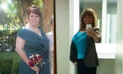 Weight Loss Before and After: I Learned It Was Never Too Late To Lose Weight And Dropped 80 Pounds