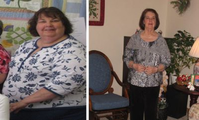 Senior Loses Excess Weight