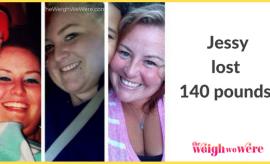 Jessy Lost 140 Pounds
