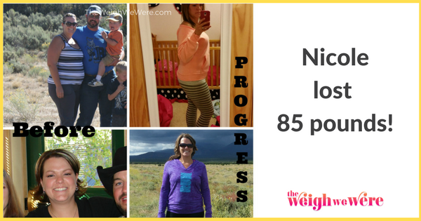 Nicole Lost 85 Pounds