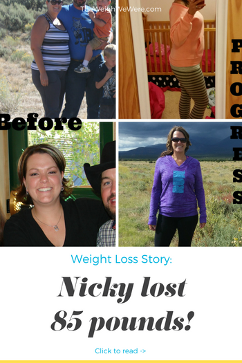 Nicole lost 85 pounds! See my before and after weight loss pictures, and read amazing weight loss success stories from real women and their best weight loss diet plans and programs. Motivation to lose weight with walking and inspiration from before and after weightloss pics and photos.