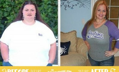 Dani used to weigh 363 pounds…that was 150 pounds ago!