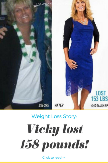 Vicky Lost 158 Pounds