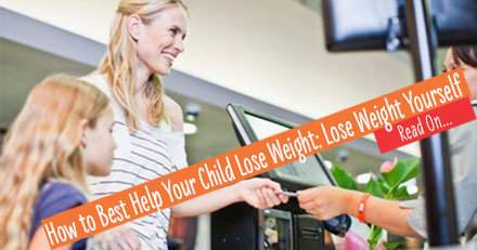 how to help your overweight child lose weight