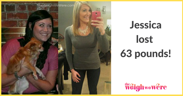 Jessica Lost 63 pounds