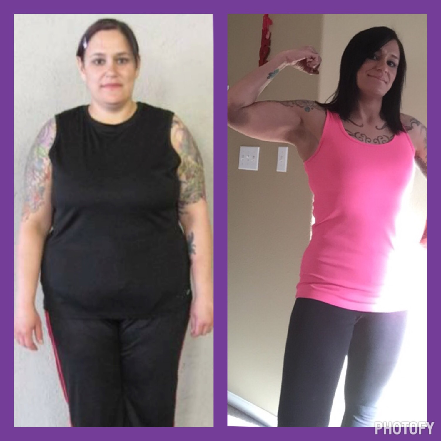 Weight Loss Before and After: Bernadette Fought Myself To Lose 84 Pounds