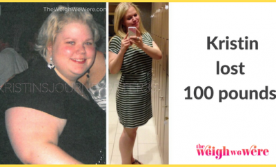 100 Pounds Lost:  Kristin's Journey After 30