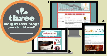 three weight loss blogs you should read