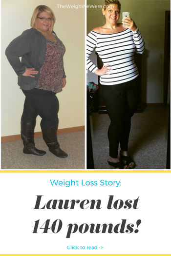 Lauren Lost 140 Pounds