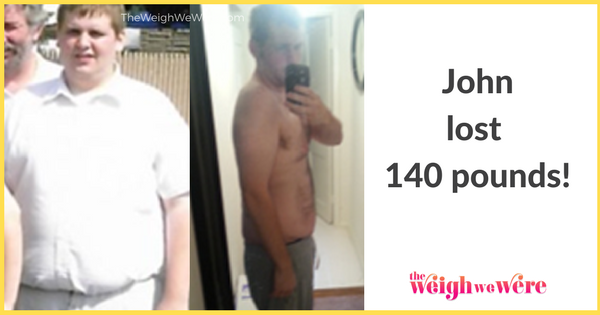 John Lost 140 Pounds