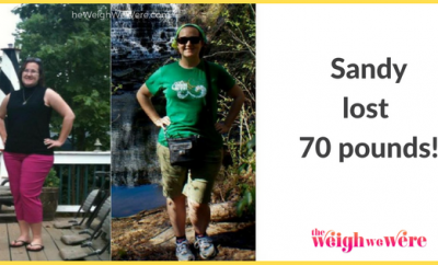 Weight Loss Before and After: Sandy Finds A New And Improved Self By Losing 70 Pounds