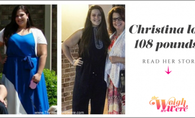 108 Pounds Lost:  Finding The Healthier and Happier Me!