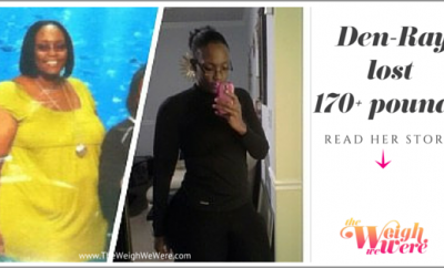 Before And After: Den-Ray Lost More Than 170 Pounds Without Surgery
