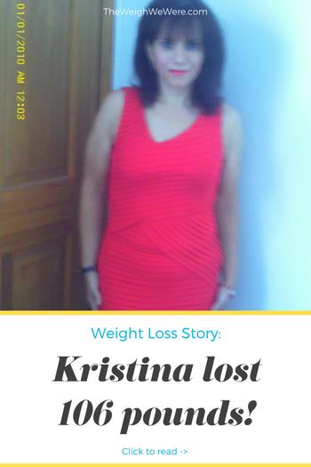 Kristina Lost 106 Pounds