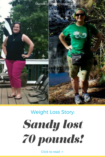 Sandy Lost 70 Pounds