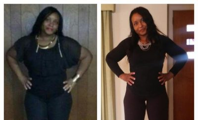 Before And After: Shalandria's Amazing 37 Pound Weight Loss Transformation
