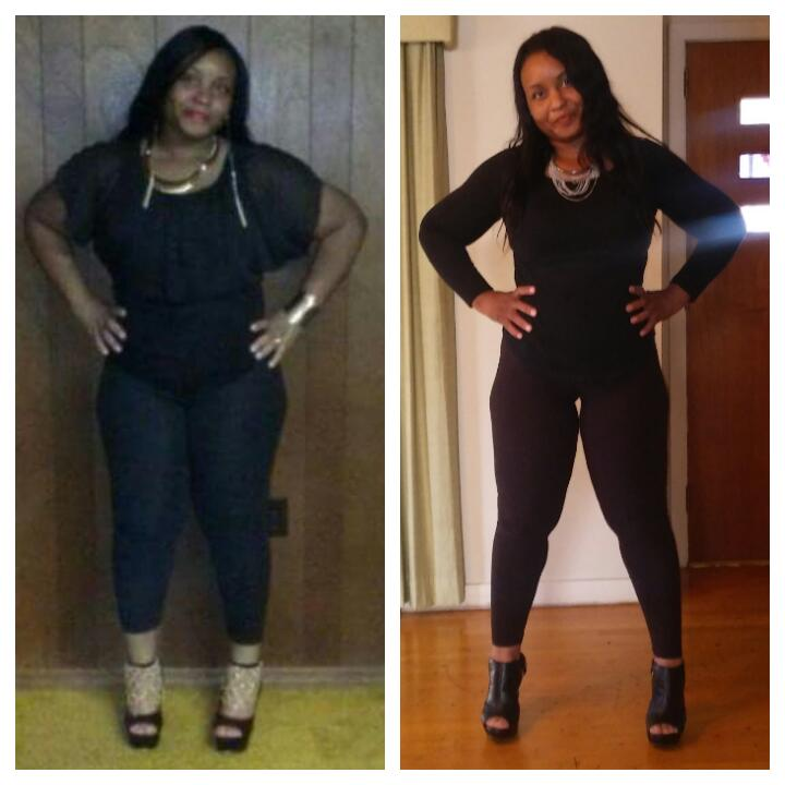 Before And After: Shalandria's Amazing 37 Pound Weight ...