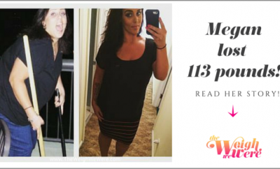 Weight Loss Before and After: Megan Dropped 113 Pounds And Went From Obese And Depressed To Healthy And Happy