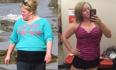 Before and After PCOS – Britt's 53 Pound Weight Loss Journey