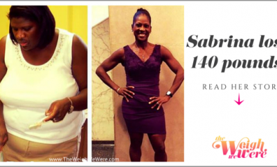 Before And After: Sabrina Loses140 Pounds By Changing Her Lifestyle!
