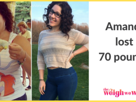 Amanda Lost 70 Pounds