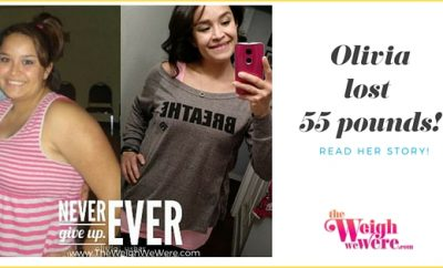 55 Pounds Lost:  Olivia's Fit Journey