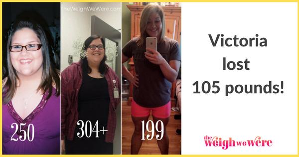 Victoria Lost 105 Pounds