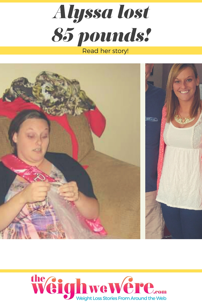 Real Weight Loss Success Stories: Alyssa Lost 85 Pounds ...
