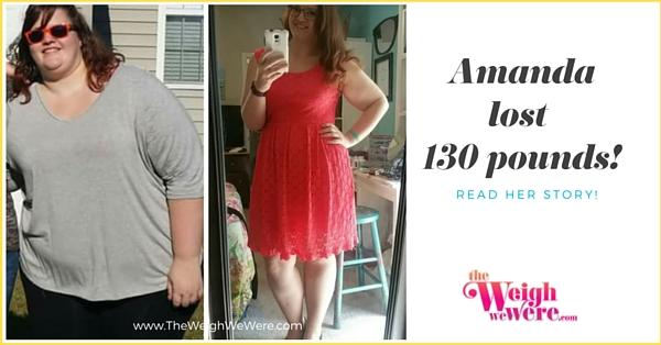 Amanda Lost 100 Pounds