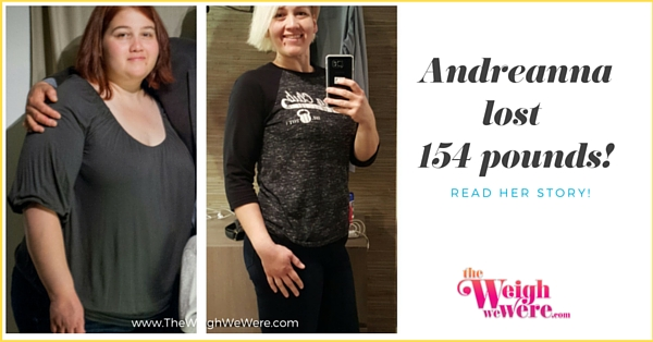 Andreanna Lost 150 Pounds