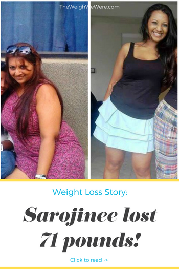 Sarojinee Lost 70 Pounds