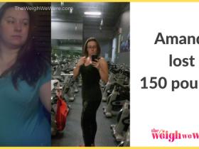 Amanda Lost 150 Pounds
