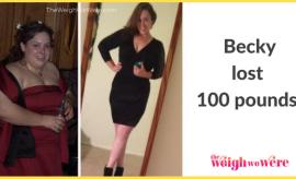 Becky Lost 100 Pounds