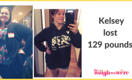 Kelsey Lost 129 Pounds