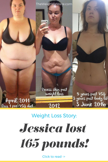 Jessica Lost 165 Pounds
