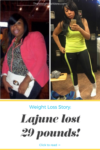 I lost over 20 pounds! Read my weight loss success story at the inspiration weightloss website The Weigh We Were.  Beautiful black women losing weight with clean eating habits, lifestyle changes, meal plans and diet programs. Before and after African American pictures, motivation, fitspo and workout gym tips.