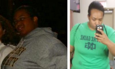 Before And After: Brittany Amazing 70 Pound Weight Loss Transformation